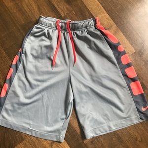 Grey and Orange Nike shorts!